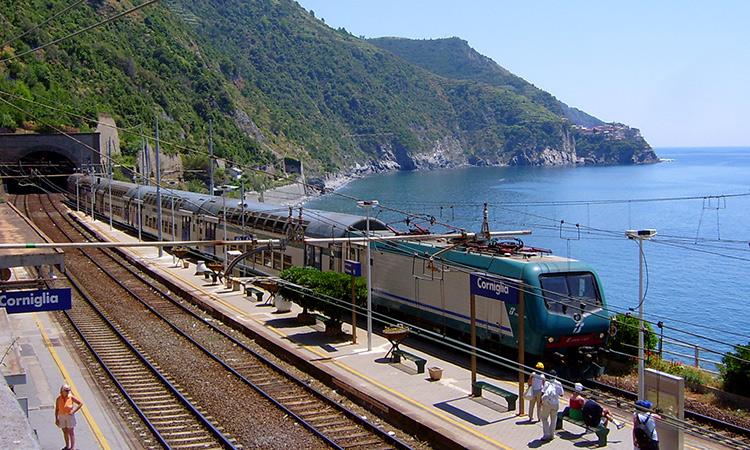 Genoa Italy Train Station