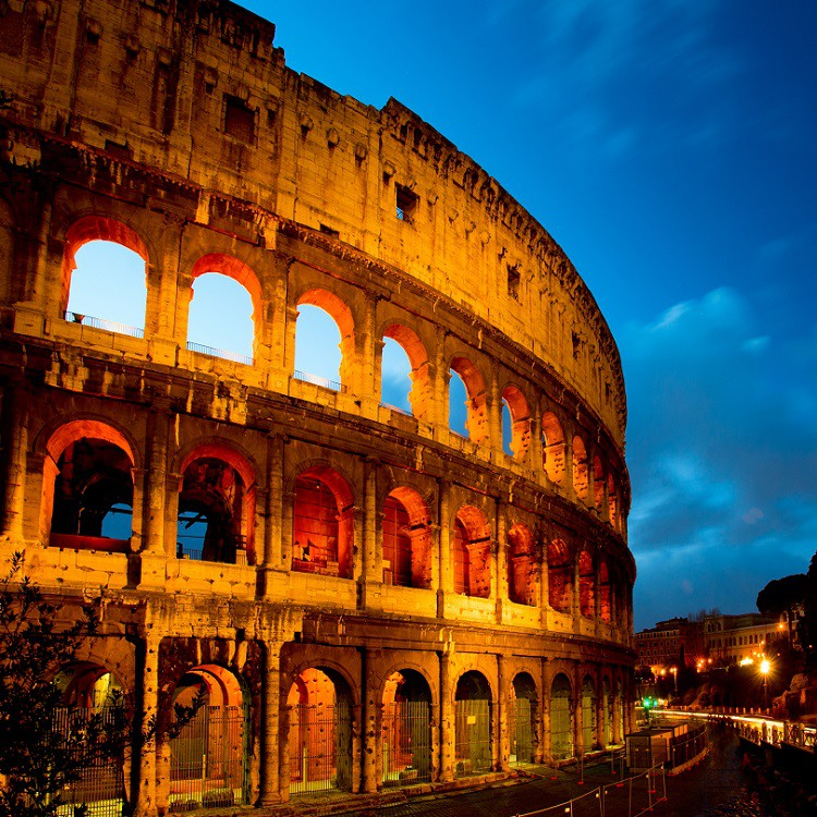 Skip the Line: Colosseum by Night Underground Tour
