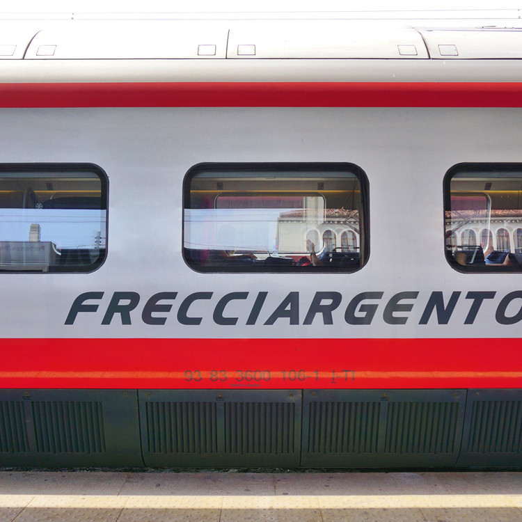 Frecciargento Trains in Italy