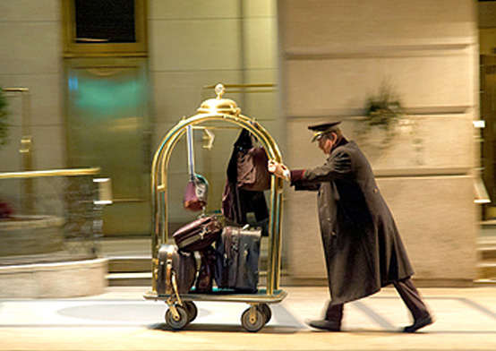 Porter with Baggage