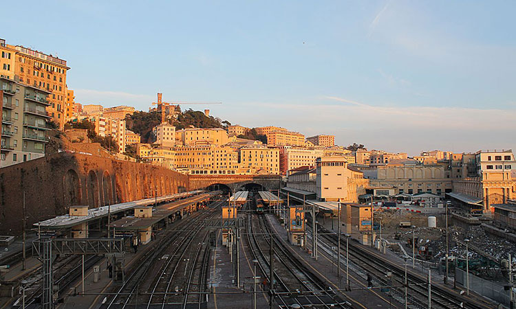 Genova Piazza Principe Train Station