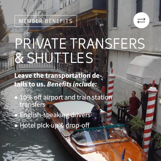 private transfers and shuttles in italy