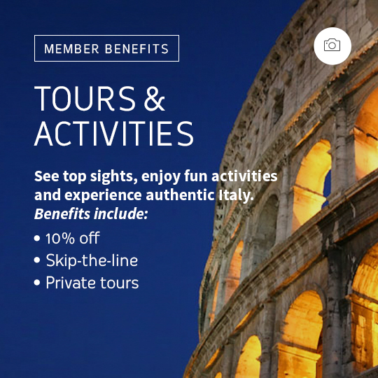 tours and activities in italy