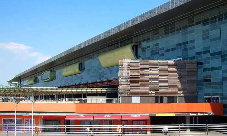 Rome Tiburtina Train Station