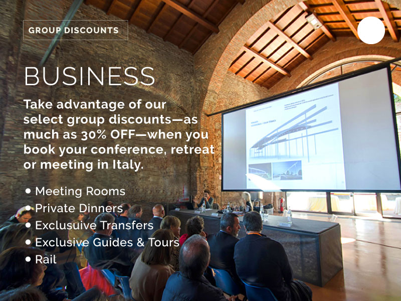 business group travel in italy