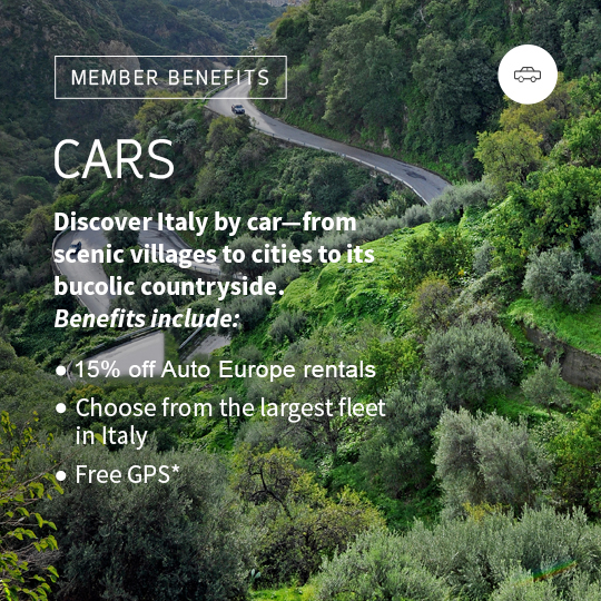 Car rentals in Italy. Rent a car in Italy.