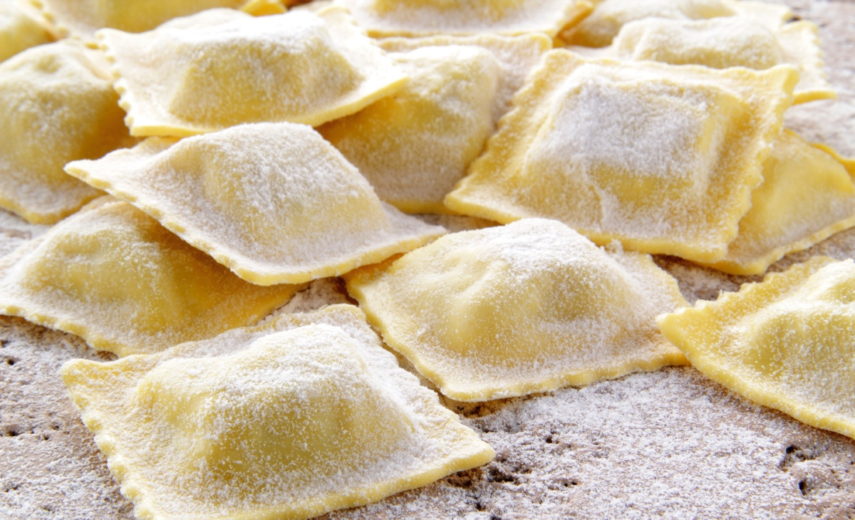 What to eat during Carnival. Ravioli.