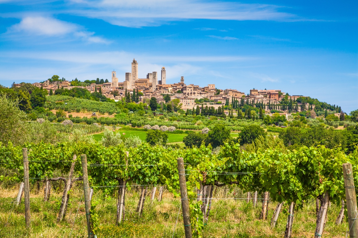 Medieval villages in Tuscany. Renaissance destinations near Florence.