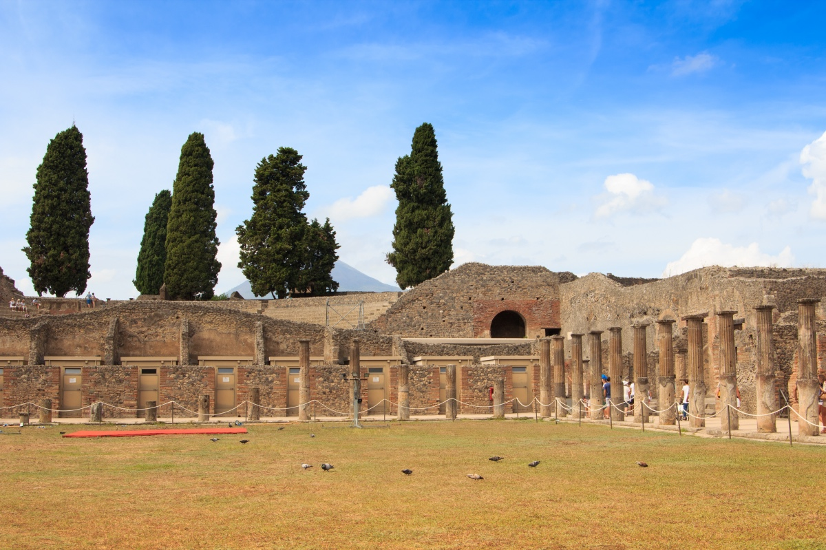 Ruins of Pompeii. What to do in Pompeii