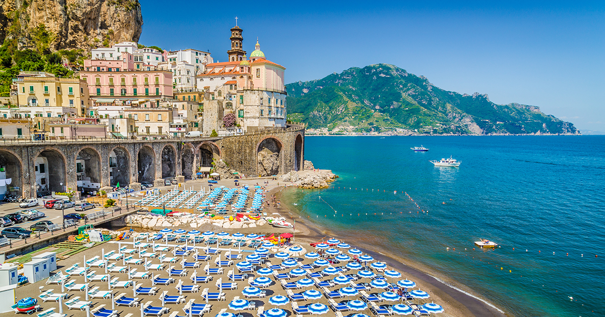 Atrani on the Amalfi Coast.