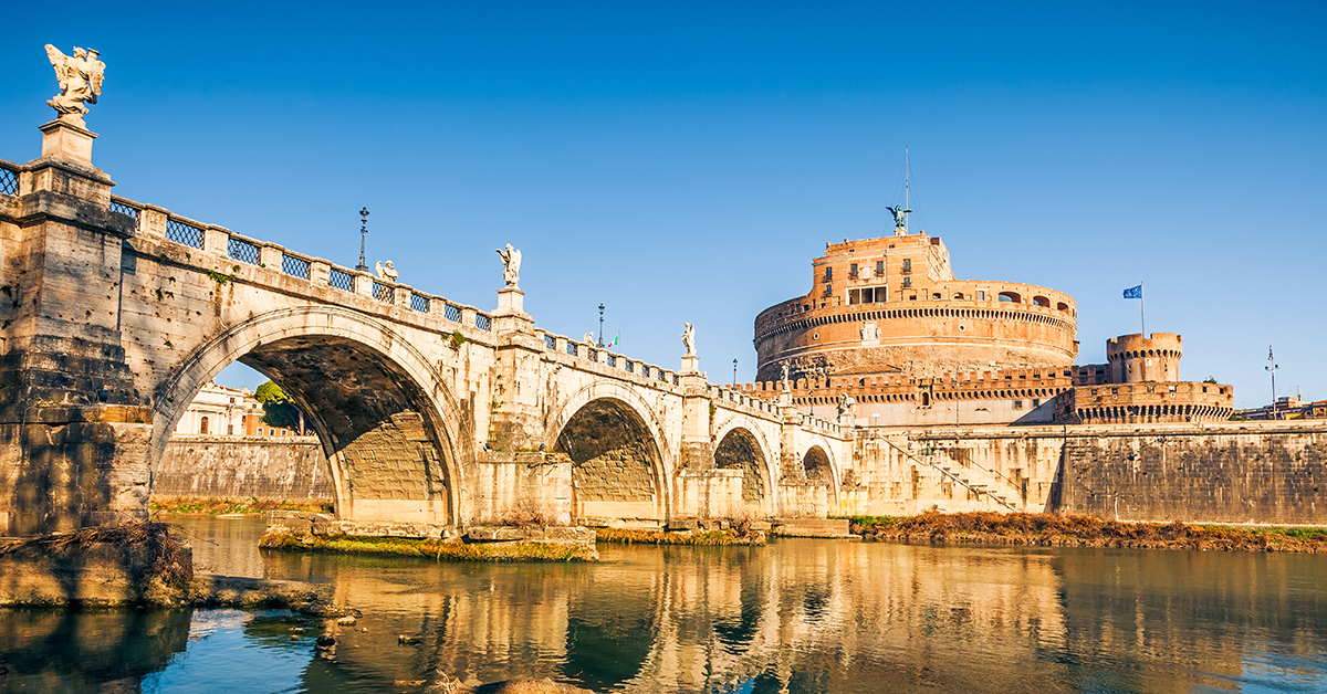 Exploring Rome S Great Bridges Italiarail