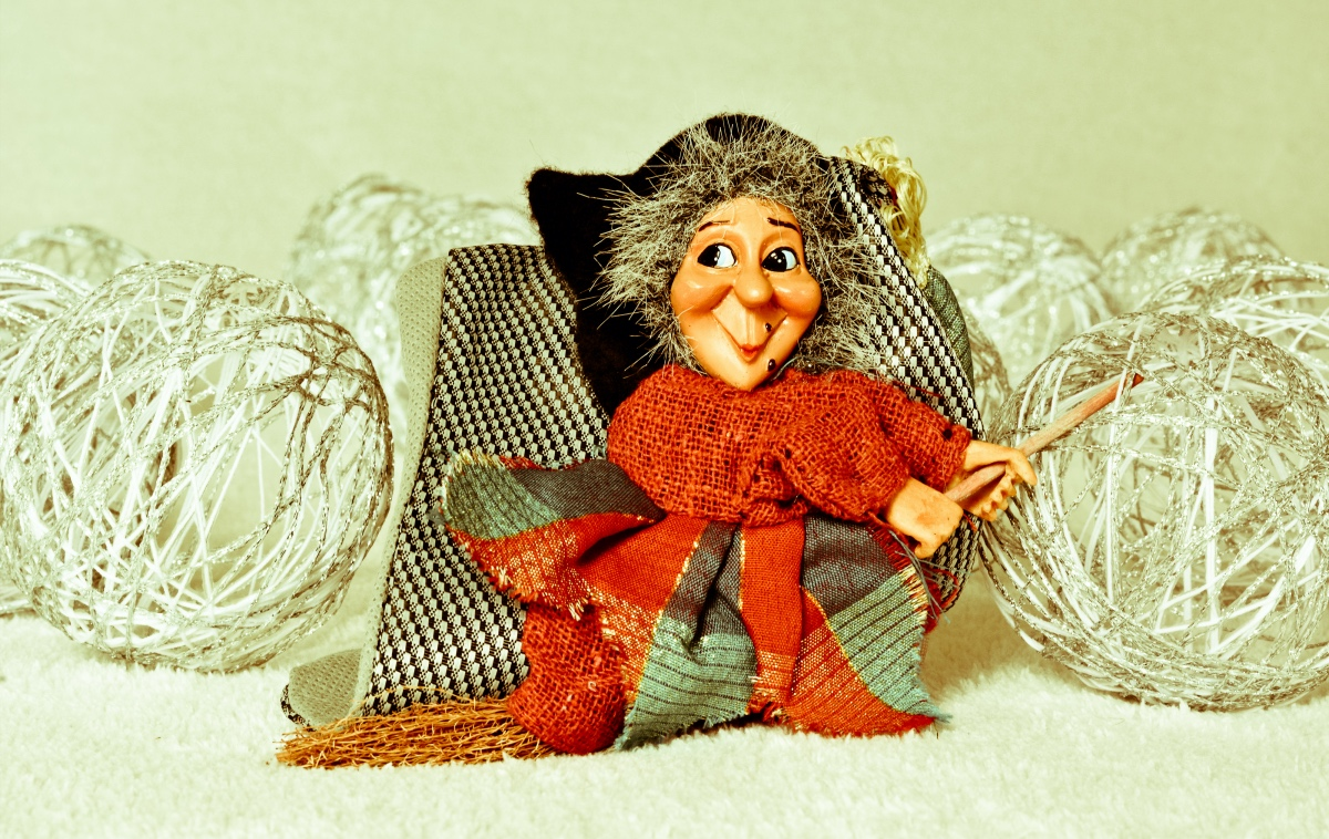 La Befana the witch of Christmas