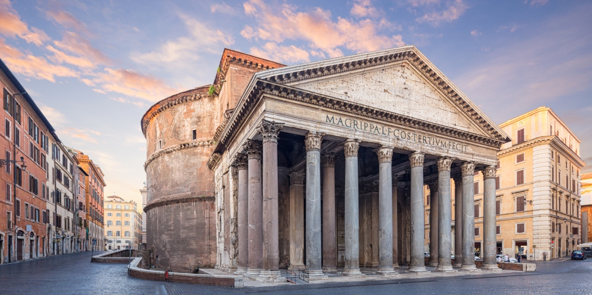 Pantheon, Rome. Temple of the Gods