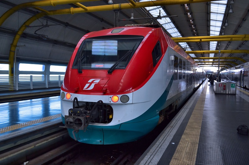 Fiumicino Express train