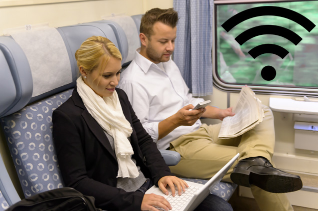 Internet Access on Trains