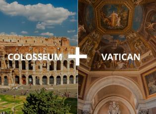Colosseum and Vatican tour in Rome, Italy