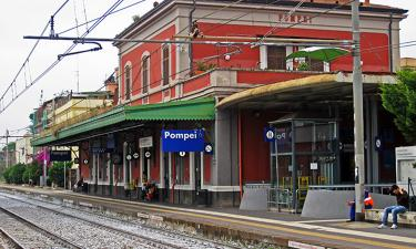 Pompei Train Station