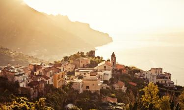 exploring the Amalfi Coast. Ravello, Amalfi Italy.