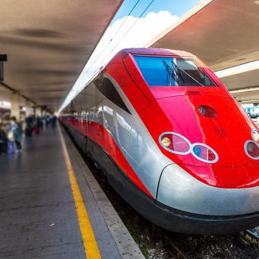 Frecciarossa Train in Italy
