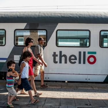 Thello Trains in Italy